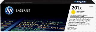 HP LaserJet 201X nagy kapacitású sárga tonerkazetta PC