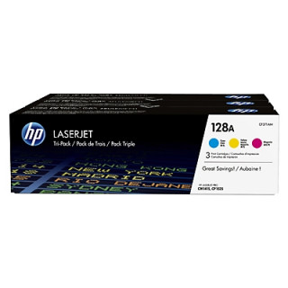 HP LaserJet 128A 3 darabos ciánkék/bíbor/sárga tonerkazetták PC