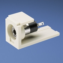 Panduit Mini-Com sztereo 3,5mm mini Jack aljzat PC