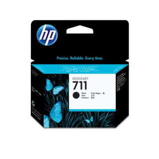 HP 711 fekete DesignJet tintapatron, 80 ml PC