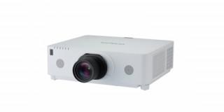 Hitachi CP-WX8650 cser. obj. 3LCD WXGA install. projektor LAN-nal optika nélkül PC
