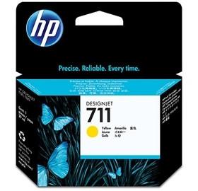 HP 711 sárga DesignJet tintapatron, 29 ml PC