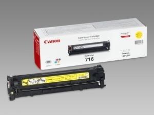 Canon sárga tonerkazetta LBP5050, 1.500 oldal PC
