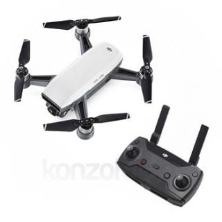 DJI SPARK drone (Alpine White) + Ajándék távirányító PC