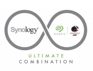 Synology DiskStation DS418j NAS 4TB (4HDD) +1db Seagate Ironwolf 4TB +SRS 2év PC