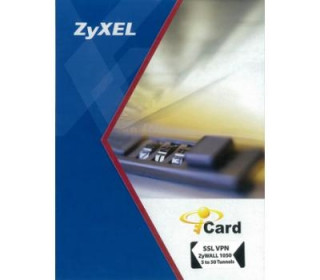 ZyXEL E- iCard, SSL VPN 2 TO 10 TUNNELS ZyWALL USG 300 PC