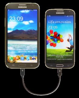 Energizer OTG-micro USB töltő kábel, 15cm Mobil