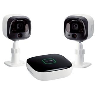 Panasonic Smart Home Safety Starter kit - HUB, 2 kültéri kamera PC