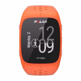 Polar M430 futóóra GPS-szel, narancssárga Mobil