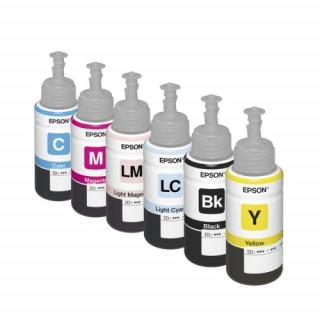 Epson cián tintatartály, T6732, L800, L805, L810, L850, L1800 nyomtatóhoz PC