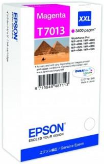 Epson bíbor tintapatron, XXL, T7013 PC