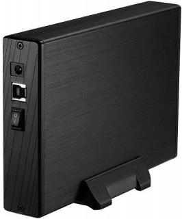 HDD ház Kolink 3.5˝ USB 3.0 Fekete PC