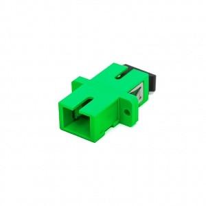 KELine SC-SC,duplex toldó multimódusú OM5 Light Green PC