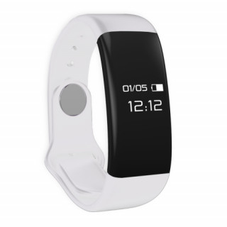Clever Watch Sport-fitness okosóra pulzusmérővel, híváskijelzővel, fehér Mobil