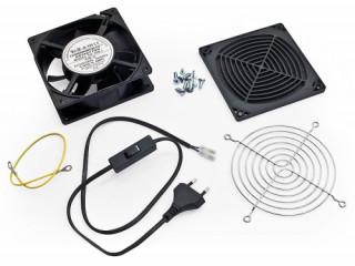 Ventilátor 230V,50Hz, 0.09 A, 15W 160m3/h, RFA, és RUA-hoz PC