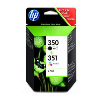 HP 350 fekete/351 háromszínű 2 darabos tintapatronok PC