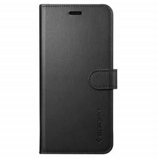 Spigen Wallett S flip tok, Galaxy S9, Fekete Mobil