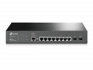TP-LINK T2500G-10TS (TL-SG3210) JetStream 8 portos gigabites L2 vezérelhető swit PC