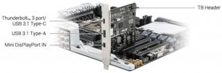 ASUS ThunderboltEX 3 kártya PC