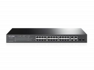 TP-LINK TL-SL2428P (T1500-28PCT) 24-Port 10/100Mbps + 4-Port Gigabit PoE+ Smart PC