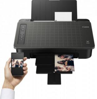 Canon PIXMA TS305 színes otthoni A4 tintás nyomtató, fekete PC