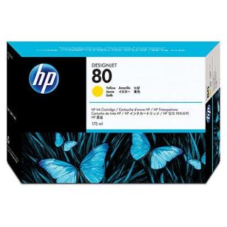 HP 80 sárga tintapatron PC
