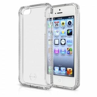 ITSKINS SPECTRUM. Apple iPhone 5S / 5 ütésálló tok- 2méteres esésig véd, átlátsz Mobil