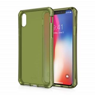 ITSKINS SPECTRUM Apple iPhone X ütésálló tok- 2méteres esésig véd, khaki Mobil