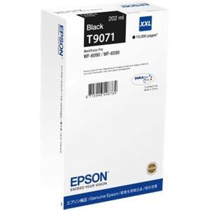 Epson fekete tintapatron, XXL, T9071, 10.000 oldal PC