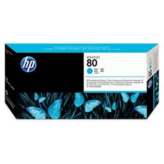 HP 80 ciánkék nyomtatófej és nyomtatófej-tisztító PC
