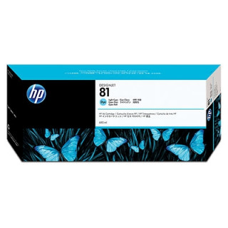 HP 81 világos ciánkék festékalapú tintapatron PC