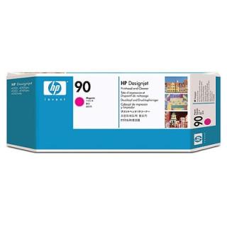 HP 90 bíbor nyomtatófej és nyomtatófej-tisztító PC