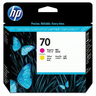 HP 70 bíbor és sárga nyomtatófej PC