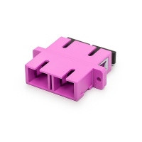 SC-SC,duplex toldó multimódusú OM4 erika violet PC