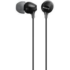 Sony MDR-EX15LPB fekete fülhallgató PC