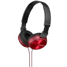 Sony MDR-ZX310R piros vezetékes fejhallgató PC