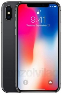 Apple iPhone X 64GB Asztroszürke Mobil