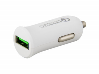 AVACOM CarMAX autós töltő, Qualcomm Quick Charge 3.0, fehér Mobil