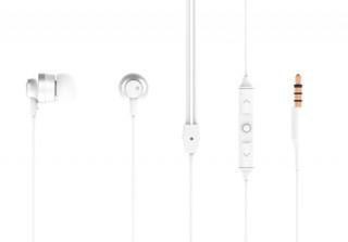 Nokia vezetékes fülhallgató, 3.5 mm jack, Fehér Mobil
