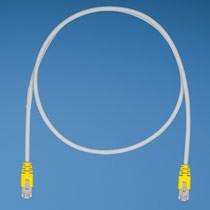Panduit Category 5e, STP patchkábel, 0.10205829 m, sárga PC