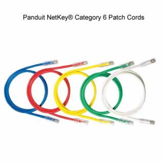 Panduit NetKey Category 6, UTP patchkábel, 3 m, zöld PC