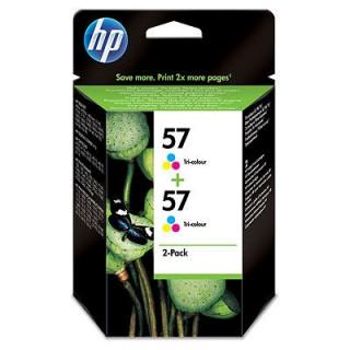 HP 57 2 darabos kiszerelésű háromszínű tintapatron PC