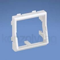 Panduit 2mod 45x45 Legrand adapter, lapos PC