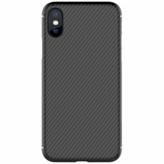Nillkin Protective hard case iPhone X, Fekete Mobil