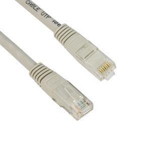 VCOM kábel UTP CAT5e patch 1m, szürke PC