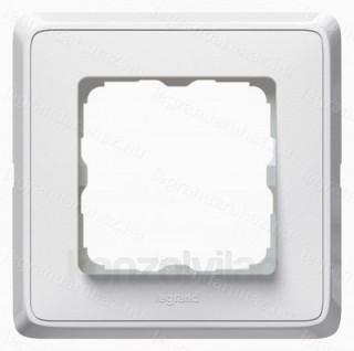 Legrand Cariva egyes keret fehér PC