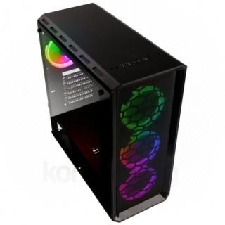 Számítógépház Kolink Levante RGB E-ATX Edzett üveg Fekete PC