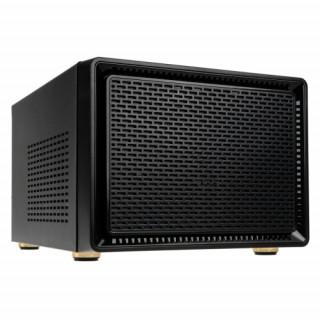 Számítógépház Kolink Satellite ITX Fekete PC