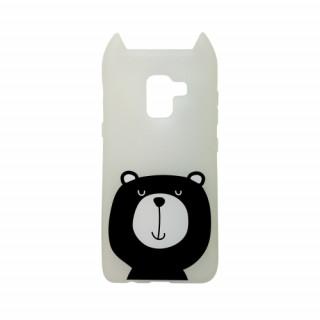 Hana Pop szilikon hátlap, Galaxy A8, Maci Mobil