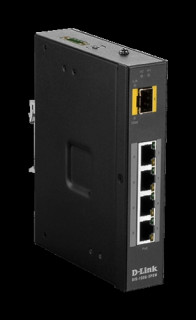 D-link 5 Port Unmanaged Switch with 4 x 10/100/1000BaseT(X) ports (4 PoE) & 1 x PC